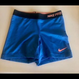 Nike Dri Fit Spandex Shorts